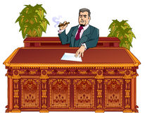 Administrative boss Stock Images