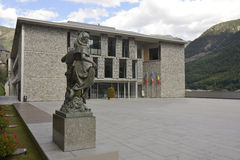 Administrative building in Andorra la Vella Royalty Free Stock Images