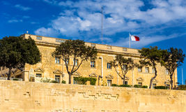 Administrative building in Valletta. Malta Stock Images