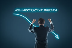 Administrative burden reduction Royalty Free Stock Photography