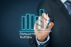 Administrative burden reduction Stock Photos
