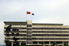 Administrative center of Konak, Izmir province of Turkey Royalty Free Stock Photography