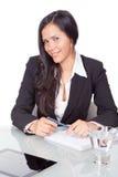 Administrative junge Frau Stockfotos
