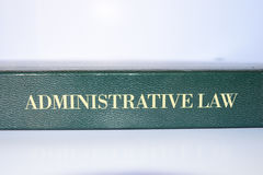 Administrative law. Body of law that governs the activities of administrative agencies of government Royalty Free Stock Photography