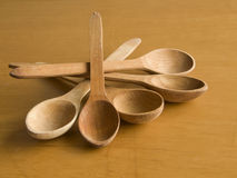 administre en bois à la cuillère images libres de droits