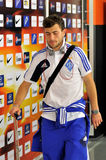 Admir Mehmedi after the game Stock Images