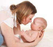 Admiração da mamã Foto de Stock Royalty Free