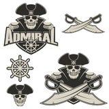 admiraal vector illustratie