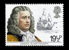 Admiraal Robert Blake Stock Afbeelding
