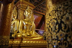 Admirable Buddha, Nan, Thailand Royalty Free Stock Photography