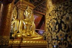 Admirable Buddha, Nan, Thailand Royalty Free Stock Photography