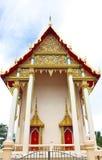 Admirablement temple de bouddhisme en Thaïlande Image libre de droits