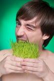 Admirador del alimento biológico Foto de archivo