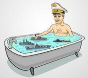 admiral royalty ilustracja
