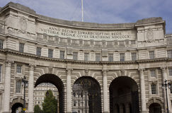 Admiral Arch in London Royalty Free Stock Images