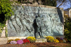Admiral De Grasse Monument in Paris Lizenzfreies Stockfoto