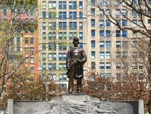 Admiral Farragut Monument in Madison Square Manhattan New York City USA America. Admiral Farragut Monument in Madison Square Manhattan New York City USA or royalty free stock photo