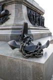 Admiral Nakhimov monument in Sevastopol Royalty Free Stock Photos