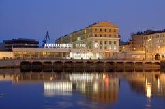 Admiralicj stocznie miasto Obraz Royalty Free