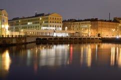 Admiralicj stocznie miasto Fotografia Stock