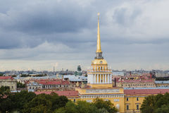 Admiralicja w Petersburg, Rosja zdjęcia stock