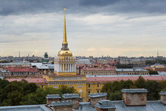 Admiralität in St Petersburg, Russland Stockbild