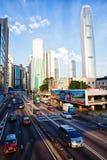 Admiralitäts-Bezirk von Hong Kong Lizenzfreies Stockbild