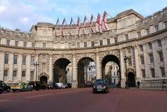 Admiralitäts-Bogen - London Stockbild