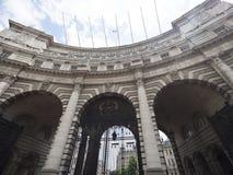 Admiralitäts-Bogen, London Stockbild