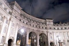 Admiralitäts-Bogen London England Lizenzfreie Stockfotos