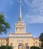 Admiralitäts-Gebäude in St Petersburg, Russland Lizenzfreie Stockfotos