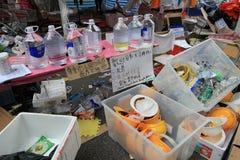 Admiralitäts-Regenschirmbewegung in Hong Kong Stockbild