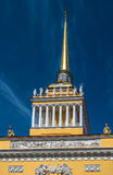 Admiralitäts-Gebäude, St Petersburg, Russland Lizenzfreie Stockfotos