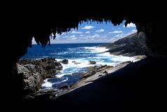 Admirals Arch. In Flinders Chase National Park, Kangaroo Island, South Australia Stock Photos