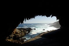 Admirals Arch, Flinders Chase National Park, Kangaroo Island. South Australia Royalty Free Stock Photo