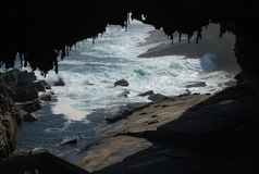 Admirals Arch, Kangaroo Island Royalty Free Stock Photos