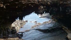 Admirals Arch on Kangaroo Island, South Australia Stock Photography