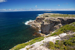 Admirals Arch lookout Stock Image