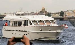 Admiralsboot Stockfotografie