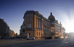 Admiralteisky Prospekt, St Petersburg, Russland Stockfoto