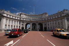 The Admiralty Arch. At The Mall in London stock photo