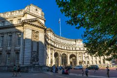 Admiralty Arch In London, UK. Stock Photo
