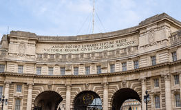 Admiralty Arch, a landmark in London Stock Images