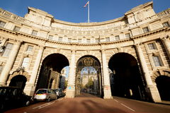 Admiralty Arch, London. Admiralty Arch as ceremonial entrance from Trafalgar Square to The Mall Stock Image