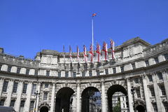 Admiralty Arch, London Royalty Free Stock Image