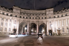 Admiralty Arch London by night London UK Stock Photo