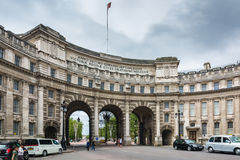 Admiralty Arch in London Stock Images