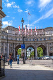 Admiralty Arch in London. UK Royalty Free Stock Photography