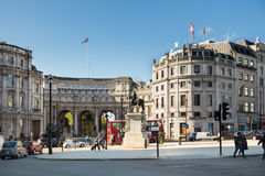 Admiralty Arch London Royalty Free Stock Photos