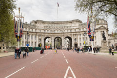Admiralty Arch from The Mall Stock Photography
